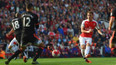 Arsenal 3-0 Manchester U. Mesut Özil şov yaptı