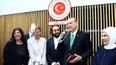 Cumhurbaşkanı Erdoğan Brüksel'de nikah şahidi oldu