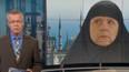 Devlet televizyonu, Merkel'e çarşaf giydirdi!