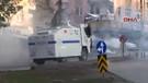 Bombalı saldırı protestosuna müdahale
