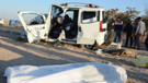 Aksaray'da kaza! 1 ölü, 12 yaralı