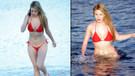 Rachel Sanders plajın yıldızı oldu