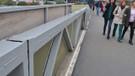 Yenibosna metrobüs üst geçidi çatladı