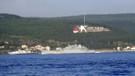 Rus savaş gemisi Boğaz'dan Akdeniz'e geçiyor