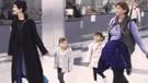 Tuba Büyüküstün ikizlerle Paris'e uçtu