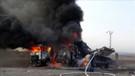 Rus uçakları Azez'i bombaladı: 10 ölü!