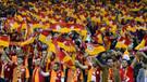 Arena'da Trabzonsporluları kızdıran tezahürat!