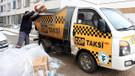 Çöpü gören çağırıyor: Çöp taksi