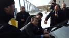 HDP'li vekil Geveri'ye polis müdahalesi