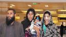 Kocasının burnunu kestiği Afgan kadın tedavi için Türkiye'ye geldi
