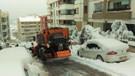 Ankara'da kar yağışıyla kapanan yollar açıldı