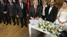 Kılıçdaroğlu, Gürsel Tekin'in oğlunun nikah şahidi oldu