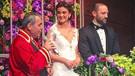 Meyve Büyüksaraç Gökhan Ciner ile evlendi