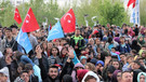 Diriliş Ertuğrul dizisi oyuncuları Konya'da