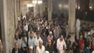 Eyüp Sultan Camii'nde ilk teravih namazı