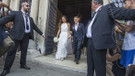 Schweinsteiger ve İvanovic'in evlilik töreni