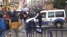 Taksim'de Polis harekete geçti