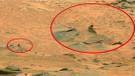 Mars'ta uzaylı bir savaşçı bulduklarını iddia ettiler