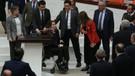 AKP'li Gökçen Enç tekerlekli sandalye ile geldi