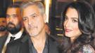 Clooney'in İkiz sevinci