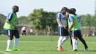 Trabzonspor antrenmanında Volkan Şen ve Rodallega kavga etti