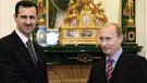 Beşar Esad Rusya'da Vladimir Putin ile görüştü