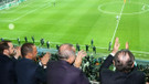 Cumhurbaşkanı Erdoğan Beşiktaş Porto maçını Vodafone Park'ta izledi
