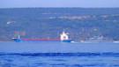 Çanakkale Boğazı'ndan Rus savaş gemisi geçti