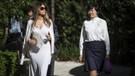 Melania Trump geleneği bozdu Japonlar şokta