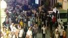 Ramazan boyunca evden çıkmayan halk Taksim'e akın etti