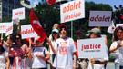 Adalet Yürüyüşü'ne New York'tan destek