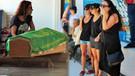 Sinan Kurtoğlu'nun cenazesi gözyaşlarıyla karşılandı