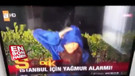 ATV  muhabiri şiddetli yağışta kendisini feda etti