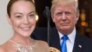 Lindsay Lohan Donald Trump'ı savundu