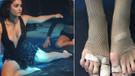 Hande Erçel'in ayak parmağı olay oldu!