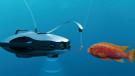 Balıklar artık sualtı drone'uyla tutulacak