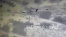 Afrin'de teröristlerin vurulma anı zırhlı araç kamerasında
