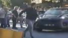 Bakırköy'de dehşet! Arabasını tartıştığı kişilerin üzerine böyle sürdü