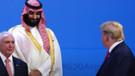 Son dakika: Donald Trump Suudi Veliaht Prens Selman ile görüştü