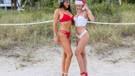 Claudia Romani ve Jessica Edstrom'un yılbaşı çekimi olay oldu