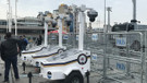 Taksim'de yılbaşı önlemleri alınmaya başlandı