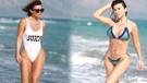 Selen Görgüzel'in bikinili pozlarına ilginç yorum: Gülü seven...