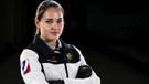 Kış olimpiyatlarına damga vuran Rus güzel Anastasia Bryzgalova