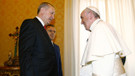 Cumhurbaşkanı Erdoğan Papa'ya Mesnevi'yi hediye etti