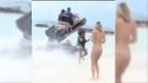 Bikinisiyle fotoğraf çektirecekti bir anda ne olduğunu anlamadı