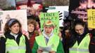 3 kadın tecavüzlere karşı Ankara'ya doğru yola çıktı