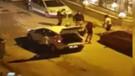 Travestilerin dipçikli ve sopalı kavgası kamerada