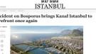 Daily Sabah: Boğaz'daki kaza, Kanal İstanbul'un gerekliliğini gösterdi