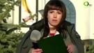 Rus muhabirin canlı yayında panik anları