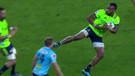 Rugby maçında rakibe ölümcül tekme